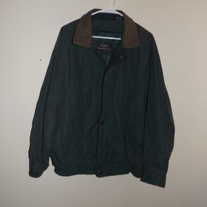 Members Only Green Jacket Large